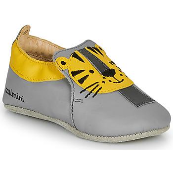 Sapatos Rapaz Chinelos Catimini CALINOU Cinza / Amarelo