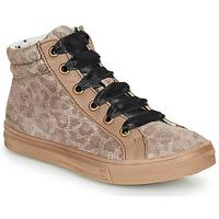 Sapatos Rapariga Sapatilhas de cano-alto Catimini CALENDULE Leopardo