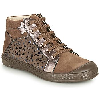 Sapatos Rapariga Sapatilhas de cano-alto GBB ORENGETTE Toupeira