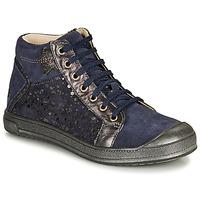Sapatos Rapariga Sapatilhas de cano-alto GBB ORENGETTE Azul