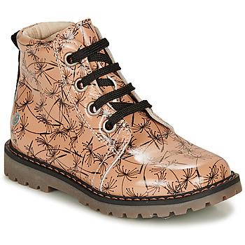 Sapatos Rapariga Botas baixas GBB NAREA Rosa / Preto