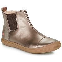 Sapatos Rapariga Botas baixas GBB ONAO Bronze / Toupeira