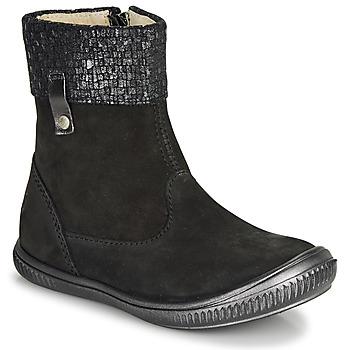 Sapatos Rapariga Botas baixas GBB ORANTO Preto