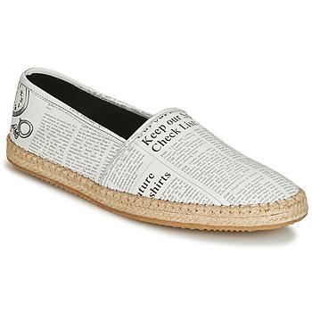 Sapatos Homem Alpargatas John Galliano 6715 Branco