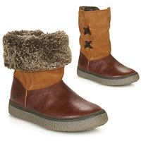 Sapatos Rapariga Botas baixas GBB OLINETTE Castanho