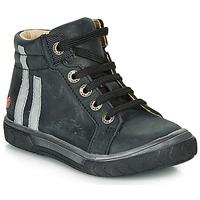 Sapatos Rapaz Sapatilhas de cano-alto GBB OSKOF Preto