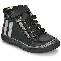Sapatos Rapaz Sapatilhas de cano-alto GBB OMAHO Preto