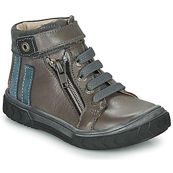 Sapatos Rapaz Sapatilhas de cano-alto GBB OMAHO Cinza
