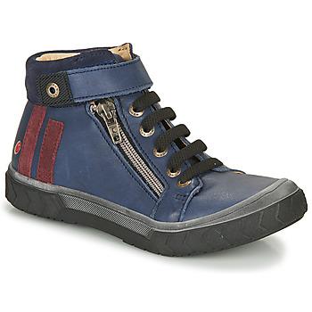 Sapatos Rapaz Sapatilhas de cano-alto GBB OMAHO Azul
