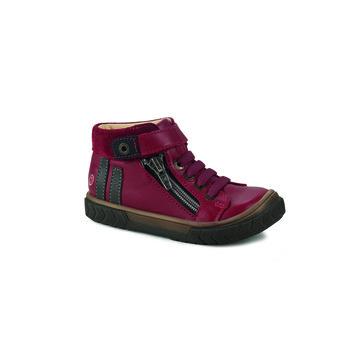 Sapatos Rapaz Sapatilhas de cano-alto GBB OMAHO Vermelho