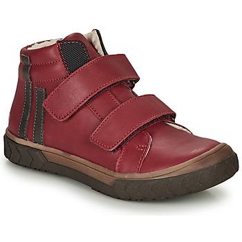 Sapatos Rapaz Sapatilhas de cano-alto GBB OZONE Vermelho