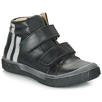 Sapatos Rapaz Sapatilhas de cano-alto GBB OZONE Preto