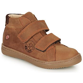 Sapatos Rapaz Sapatilhas de cano-alto GBB NAZAIRE Castanho
