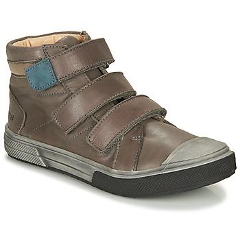 Sapatos Rapaz Sapatilhas de cano-alto GBB OSHIRO Cinza