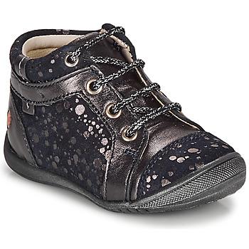 Sapatos Rapariga Botas baixas GBB OMANE Marinho / Prateado