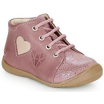 Sapatos Rapariga Sapatilhas de cano-alto GBB OCALA Rosa