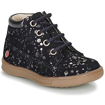 Sapatos Rapariga Botas baixas GBB NINON Marinho / Prata