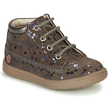 Sapatos Rapariga Sapatilhas de cano-alto GBB NINON Toupeira