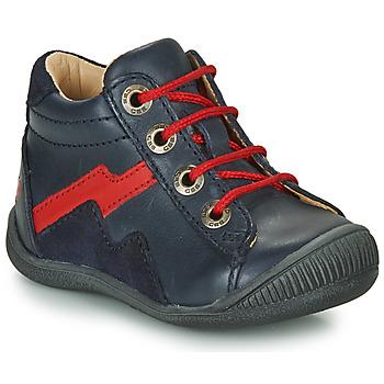 Sapatos Rapaz Botas baixas GBB ORAM Marinho / Vermelho