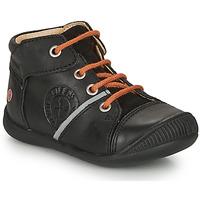 Sapatos Rapaz Botas baixas GBB OULOU Preto