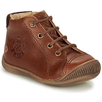 Sapatos Rapaz Botas baixas GBB NOE Castanho