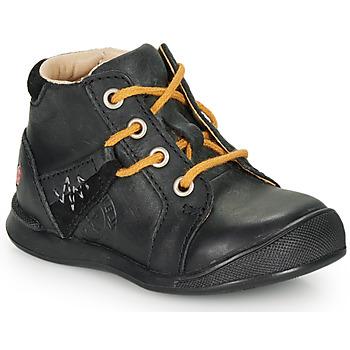 Sapatos Rapaz Botas baixas GBB ORBINO Preto