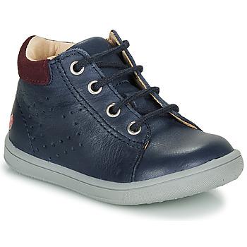 Sapatos Rapaz Sapatilhas de cano-alto GBB FOLLIO Marinho