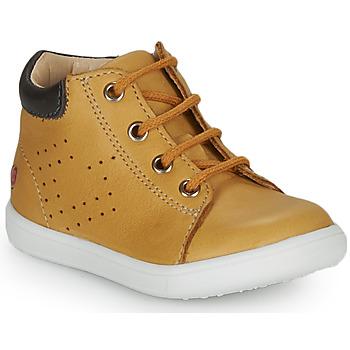 Sapatos Rapaz Sapatilhas de cano-alto GBB FOLLIO Amarelo