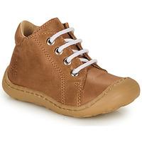 Sapatos Rapaz Sapatilhas de cano-alto GBB FREDDO Conhaque