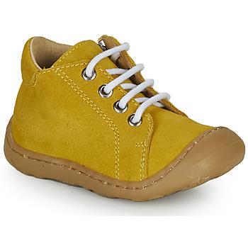 Sapatos Rapaz Sapatilhas de cano-alto GBB FREDDO Amarelo