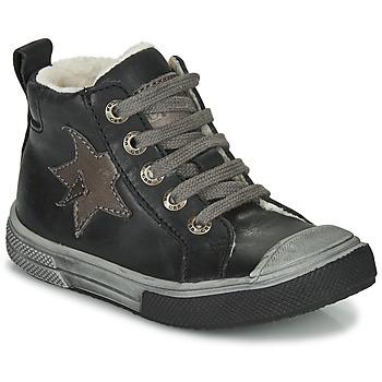 Sapatos Rapaz Sapatilhas de cano-alto GBB OCALIAN Cinza