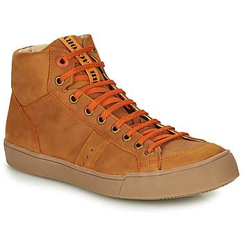 Sapatos Rapaz Sapatilhas de cano-alto GBB OSTRAVI Castanho
