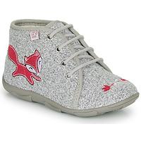 Sapatos Rapariga Chinelos GBB OTRALEE Cinza / Rosa