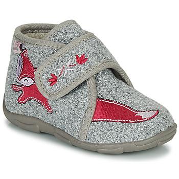 Sapatos Rapariga Chinelos GBB OCELINA Cinza
