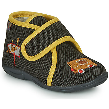 Sapatos Rapaz Chinelos GBB OKANDI Preto