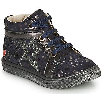 Sapatos Rapariga Sapatilhas de cano-alto GBB NAVETTE Marinho