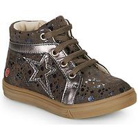 Sapatos Rapariga Sapatilhas de cano-alto GBB NAVETTE Toupeira