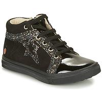 Sapatos Rapariga Sapatilhas de cano-alto GBB NAVETTE Preto