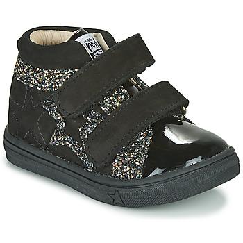 Sapatos Rapariga Sapatilhas de cano-alto GBB OHANE Preto