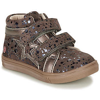 Sapatos Rapariga Sapatilhas de cano-alto GBB OHANE Castanho