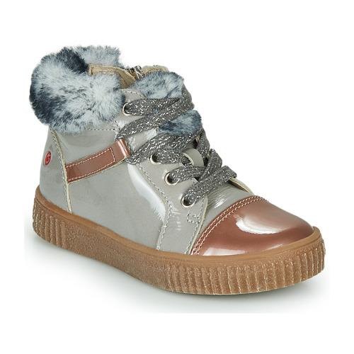 Sapatos Rapariga Sapatilhas de cano-alto GBB ORBA Cinza