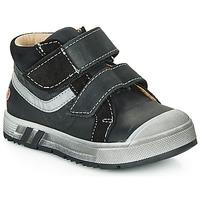 Sapatos Rapaz Sapatilhas de cano-alto GBB OMALLO Preto