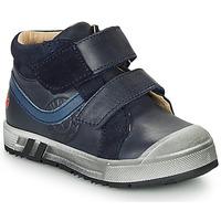 Sapatos Rapaz Sapatilhas de cano-alto GBB OMALLO Marinho