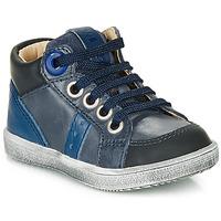 Sapatos Rapaz Sapatilhas de cano-alto GBB ANGELITO Azul
