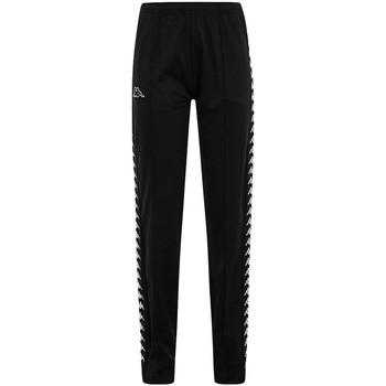 Textil Calças Kappa ADEV BLACK WHITE Preto