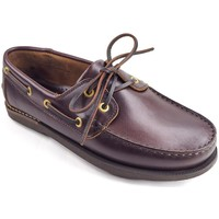 Sapatos Sapato de vela La Valenciana Zapatos  3200 Pull Marrón Castanho