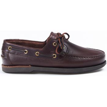 Sapatos Sapato de vela La Valenciana Zapatos  3200 Marrón Castanho