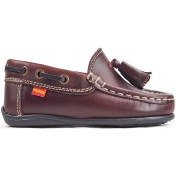 Sapatos Criança Sapato de vela La Valenciana Zapatos Niños  216 Burdeos Vermelho