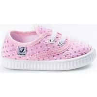 Sapatos Criança Sapatilhas Javer Zaptillas  60-10 Rosa Rosa