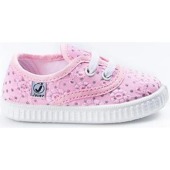 Sapatos Rapariga Sapatilhas Javer Zapatillas  60-10 Rosa Rosa